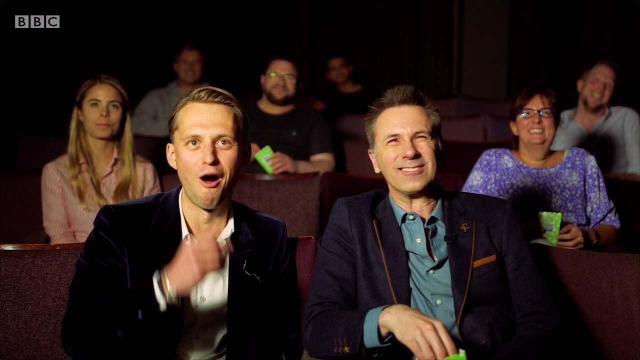 Photo: BBC Click at Realeyes mini cinema