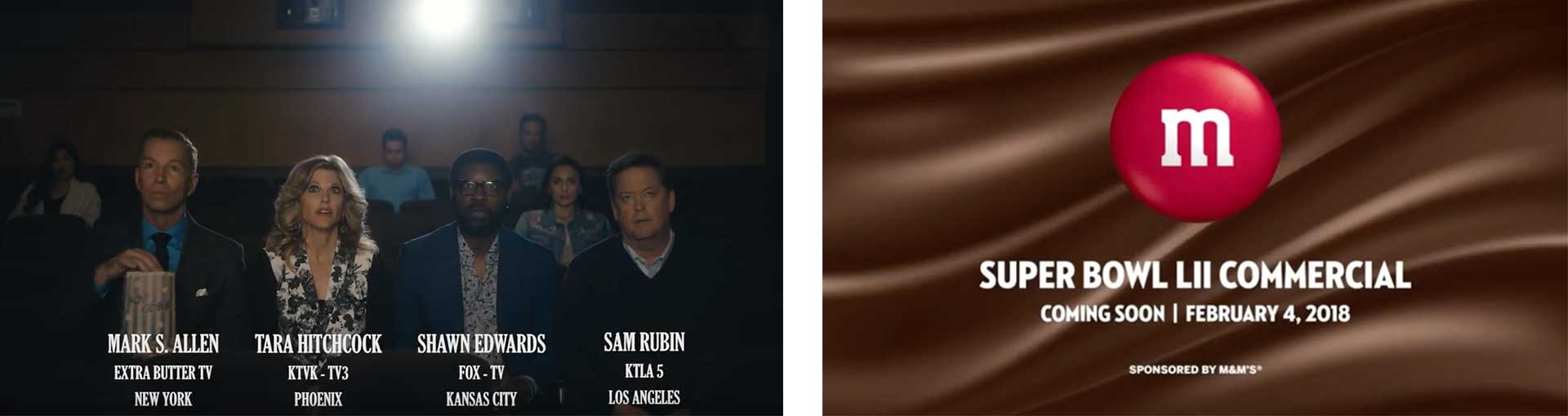 M&Ms SuperBowl LII Commercial Coming Soon
