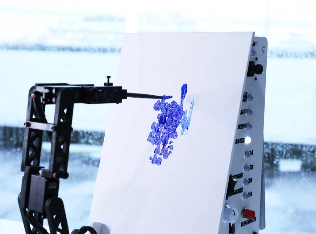 Pointillist Painting Robot Arm