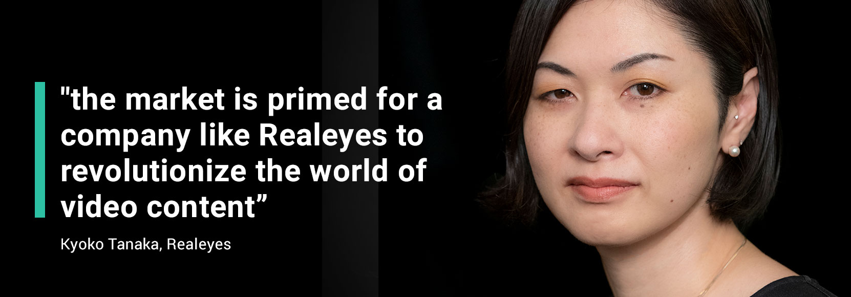 Kyoko Tanaka - Realeyes to revolutionise the world of video content