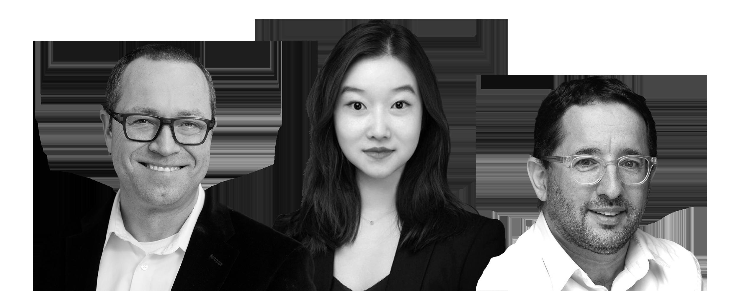 Max Kalehoff, Yasmine Yang and Oded Netzer