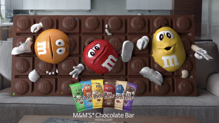 M&Ms Chocolate Bar