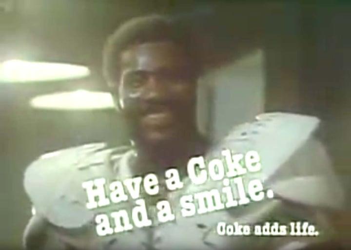 Coca-Cola Mean Joe Greene