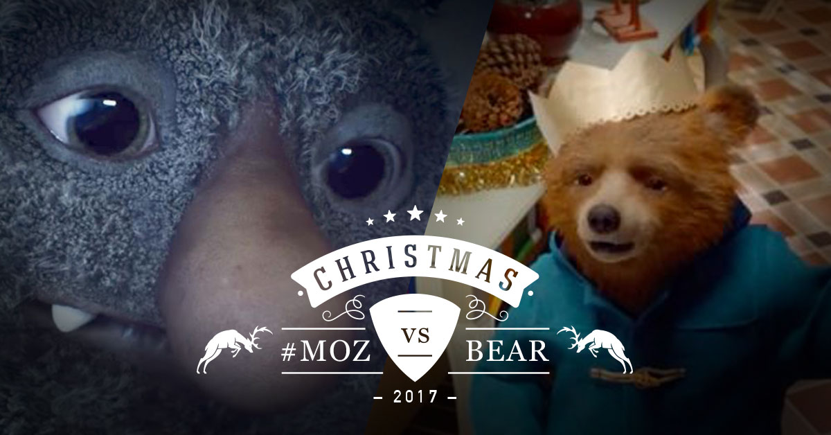 Moz vs Paddington Bear